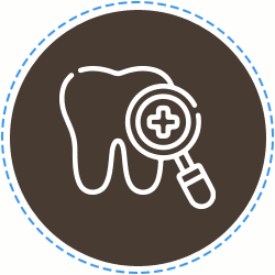 Icon for sedation at children's dentist and pediatric specialist in Columbia TN for children's healthcare.